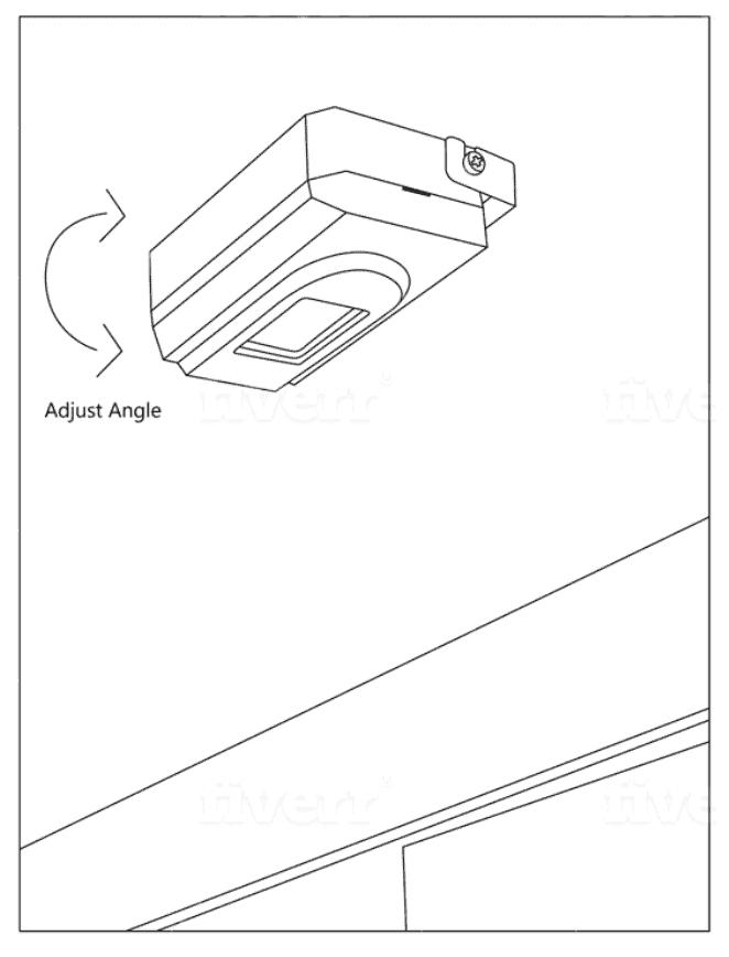 ERA-PIR Mounted Over Doorway Motion Sensor Door Chime for Business