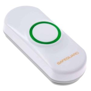 Lra-Pbtx Loud Wireless Door Chime Kit With Flashing Strobe Push Button