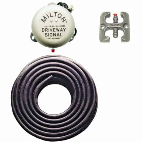 Milton 8DSBS1 Driveway Signal Bell Kit Alerts When Car Rolls Over Tube